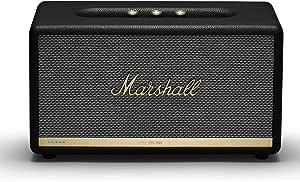 Marshall 马歇尔 Stanmore II 无线Wi-Fi Alexa语音智能扬声器-黑色