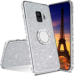 LEECOCO Samsung Galaxy S8 Plus 手机壳 Plating TPU:Silver