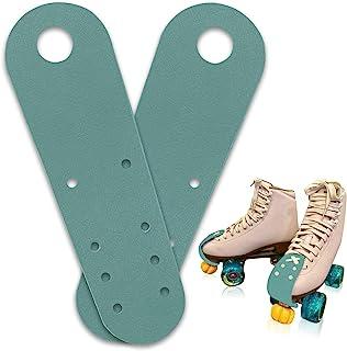 Jaccy 脚趾防护罩,适用于溜冰鞋,皮革平趾防护罩