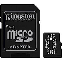 Kingston Canvas Select Plus microSD 卡SDCS2/16GB SD Adapter I…