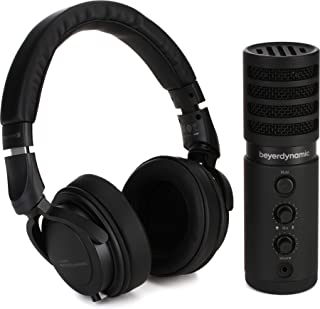 beyerdynamic Creator 24 捆绑带 DT 240 PRO 耳机和 Fox USB 工作室麦克风