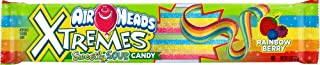Airheads Xtremes Sweetly Sour Candy Belts, Rainbow Berry, 2 Ounce (Bulk Pack of 18)