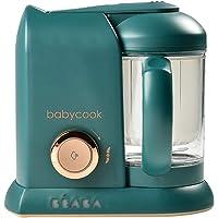 BEABA Babycook Solo 4合1蒸汽锅和搅拌机,4.5杯,可用洗碗机清洗,松木