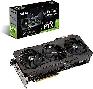 ASUS 华硕 NVIDIA GeForce RTX 3080 三重风扇型号 10G TUF-RTX3080-10G-GAMING