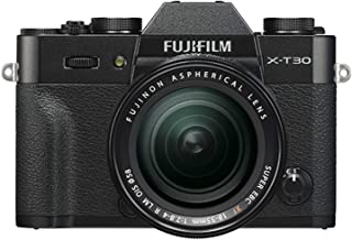 Fujifilm 富士 X-T30 无反光数码相机 w/XF18-55mm F2.8-4.0 R LM OIS 镜头 - 黑色