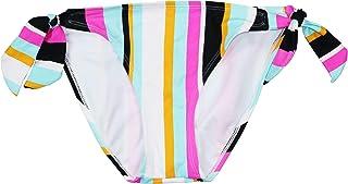 Hula Honey 青少年条纹侧边系带低腰比基尼泳裤