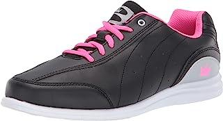 Brunswick 女式 神秘黑/粉色保龄球鞋 黑色/粉色 7