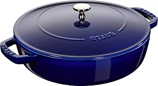 Zwilling 双立人 STAUB 珐宝 铸铁高顶锅,深蓝色,28厘米