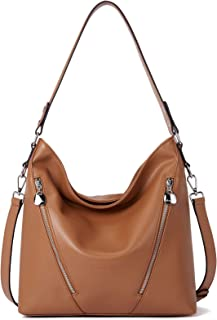 Bostanten 女式皮革手提包设计师手提袋手提包单肩包