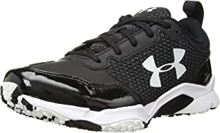 Under Armour 男式 Ultimate Turf Trainer 棒球鞋,黑色,12