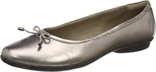 Clarks 女式 gracelin BLU 芭蕾平底鞋