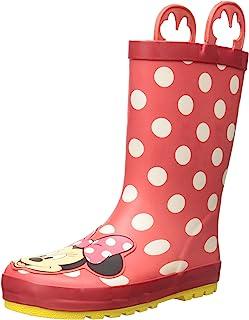 Western Chief 儿童 防水迪士尼角色雨靴,易穿手柄