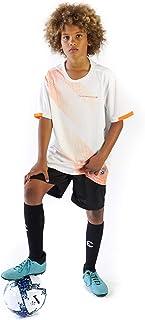PAIRFORMANCE 女孩和男孩足球球衣运动团队训练制服年龄 4-12 男孩女孩青少年衬衫和短裤