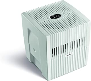 Venta文塔空气净化器,LW25 COMFORTPlus,空气加湿器和空气过滤器,适用于45平方米的房间 Brillant Weiss 7026501
