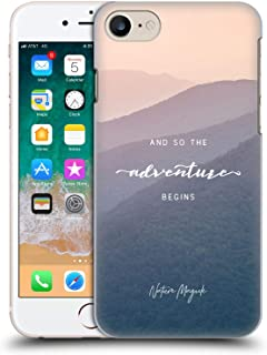 官方自然魔法山脉所以冒险开始引语硬背壳适用于 Apple iPhone 7 / iPhone 8 / iPhone SE 2020