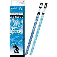三菱铅笔 铅笔 迪士尼 蓝色 B 1打 纸盒 K5593B