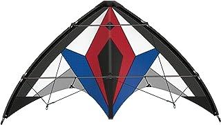动态运动风筝 Flexus 150 GX,高级龙,抗撕裂的防撕裂帆布,由防撕裂聚酯和玻璃纤维杆制成,带方向盘和说明(不一定支持中文),约 150 x 65 厘米大