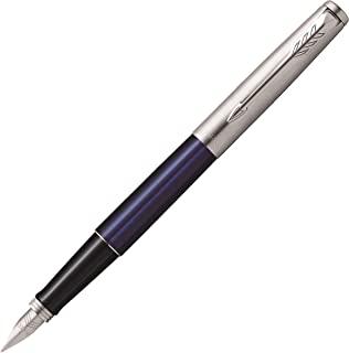 派克 钢笔 F 细字 喷管 蓝色CT 2049524 两用式 正规进口商品