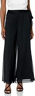 ALEX evenings 女式晚礼服裤带侧面系带细节