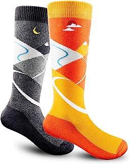 儿童滑雪袜 OTC 保暖柔软防滑袖口冬季滑雪户外适合男孩