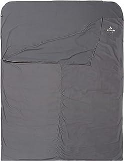 TETON 运动睡袋衬垫;一个干净床单套件,无论您走到哪里;非常适合旅行、露营和任何时候您离家过夜;可机洗;旅行床单套装
