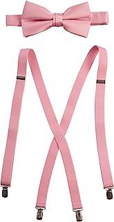 Tuxgear 蝴蝶结和背带套装组合,多种尺寸和颜色