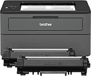 Brother 小型黑白激光打印机 XL Version (Incl. 2 years of Toner) NA 灰色,需配变压器