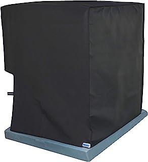 Comp-Bind Technology 防水盖,适用于空调系统单元Lennox Merit 型号 13ACX-024,防水黑色尼龙盖,尺寸 24.5 英寸宽 x 24.5 英寸深 x 25.5 英寸高