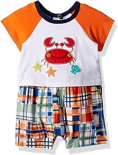 Bonnie Baby 男孩连体衣和短裤套装