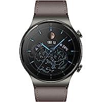 HUAWEI 华为 WATCH GT 2 Pro 智能手表,AMOLED 高清触摸屏 2 周电池寿命 带GPS 和 GL…