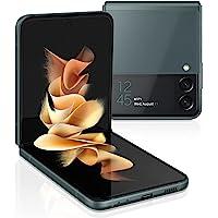 三星 Galaxy Z Flip 3 5G 工厂解锁安卓手机美国版智能手机灵活模式直观相机小巧 128GB 存储