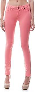 Poplook 女式休闲中腰弹力紧身针织打底裤