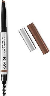 KIKO MILANO – 眉毛雕刻自动棕色眉笔,雕刻眉毛 | 04 赭色 | 低*性眉笔 | 无刺激性化妆 | 专业化妆 | 意大利制造