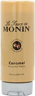 Monin 調味醬汁,焦糖,12盎司(約340ml)瓶(6瓶裝)