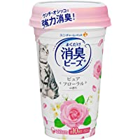 Unicharm Odor Control Beads 猫砂*剂适用于猫砂* - 柔软纯花香