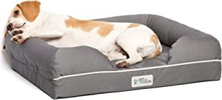 petfusion 终极宠物床 & 高级版 Lounge 带纯色*海绵 [ 替换封面可选 ] Small Bed - Slate Gray 小号