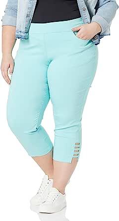 SLIM-SATION 女式加大码套穿纯色露脐正版前后口袋