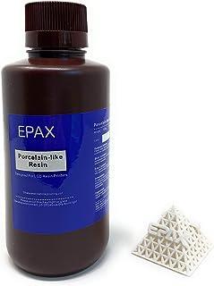 EPAX 3D 打印机陶瓷类树脂,适用于 LCD 3D 打印机,500 克