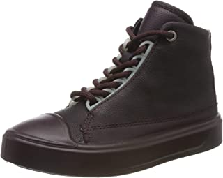 ECCO 爱步 Flexure T-Cap 女童高帮运动鞋
