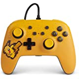 PowerA Pokemon 增强型有线控制器 适用于 Nintendo Switch - Pixel Pikachu…