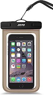 JOTO 通用防水袋手机干燥袋保护套适用于 iPhone 12 Pro Max 11 Pro Max Xs Max XR X 8 7 6S Plus SE,Galaxy S20 Ultra S20+ S10 Plus S10e /Note 1...