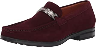 STACY ADAMS 女士 Reginald 麂皮一脚蹬乐福鞋