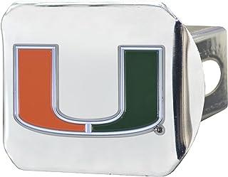 SLS 迈阿密飓风队 3D 彩色徽章铬合金挂接装置盖