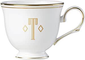 Lenox 联邦金块交织字母餐具 字母 T 872923