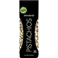 Wonderful Pistachios & Almonds 开心果,烤制和盐渍,32盎司/907克袋装
