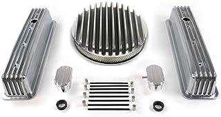 Vintage Parts 333907 SBC 35.56 cm 深圆/高中心螺栓翅膀发动机装饰套件~带透气器(PCV),1 包