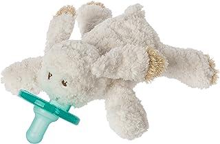 Wubbanub 绒毛填充玩具和安抚奶嘴 Cream Bunny Size