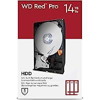 Western Digital 西部数据 Red Pro 14TB NAS 3.5英寸内置硬盘 - 7200 RPM C…