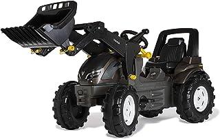 Rolly Toys 710409 牵引车 rollyFarmtrac Premium Valtra 带前装载机 tollyTrac 装载机(3-8 岁的儿童的脚踏车 带车)71 040 9,*