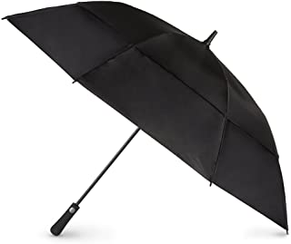 totes Auto Open Vented Golf Stick Umbrella 黑色 均码